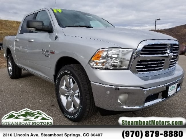 New 2019 Ram 1500 Classic SLT CREW CAB 4X4 Truck Crew Cab For Sale/Lease Steamboat Springs, CO