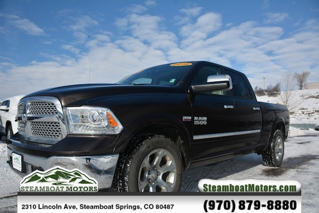 Used 2016 Ram 1500 Laramie Truck For Sale Steamboat Springs CO