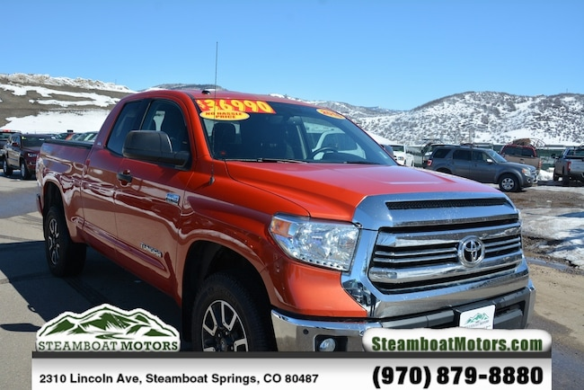 Used 2016 Toyota Tundra SR Truck For Sale Steamboat Springs CO