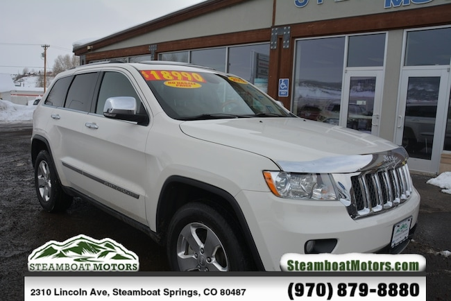 Used 2012 Jeep Grand Cherokee Overland SUV For Sale Steamboat Springs CO