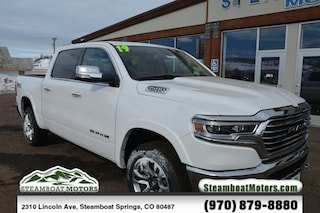 New 2019 Ram 1500 LARAMIE LONGHORN CREW CAB 4X4 5'7 BOX Crew Cab For Sale/Lease in Steamboat Springs, CO