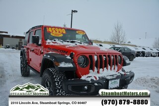 Used 2018 Jeep Wrangler Unlimited Rubicon SUV in Steamboat Springs, CO