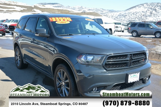 Used 2018 Dodge Durango GT SUV For Sale Steamboat Springs CO