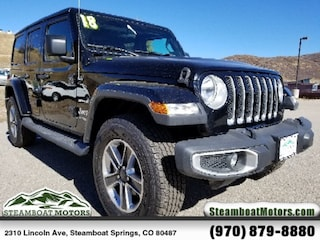 New 2018 Jeep Wrangler Unlimited Sahara SUV For Sale/Lease in Steamboat Springs, CO
