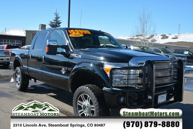 Used 2016 Ford F-350SD Lariat Truck For Sale Steamboat Springs CO