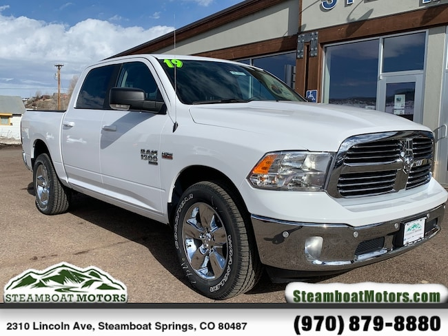 New 2019 Ram 1500 CLASSIC BIG HORN CREW CAB 4X4 5'7 BOX Crew Cab For Sale/Lease Steamboat Springs, CO