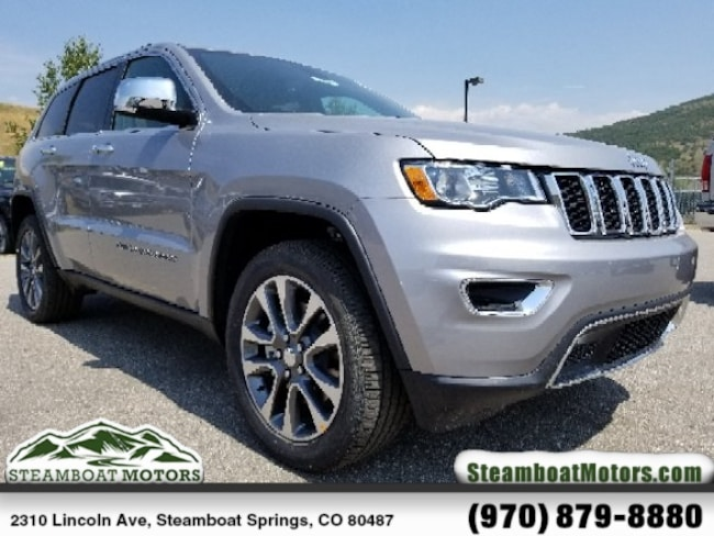 New 2018 Jeep Grand Cherokee LIMITED 4X4 Sport Utility For Sale/Lease Steamboat Springs, CO