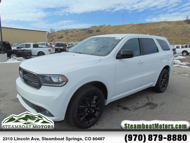 New 2018 Dodge Durango SXT PLUS AWD Sport Utility For Sale/Lease Steamboat Springs, CO