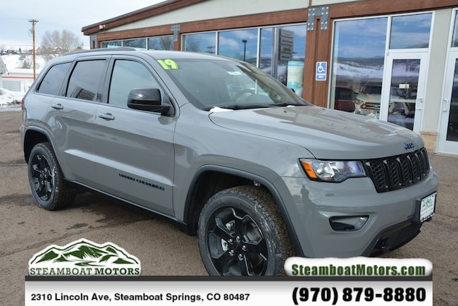 New 2019 Jeep Grand Cherokee UPLAND 4X4 Sport Utility For Sale/Lease Steamboat Springs, CO
