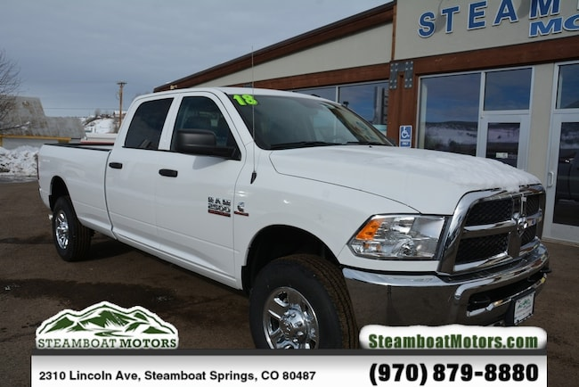 New 2018 Ram 2500 TRADESMAN CREW CAB 4X4 8' BOX Crew Cab For Sale/Lease Steamboat Springs, CO