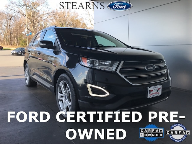 Used 2015 Ford Edge Titanium SUV in Burlington, NC