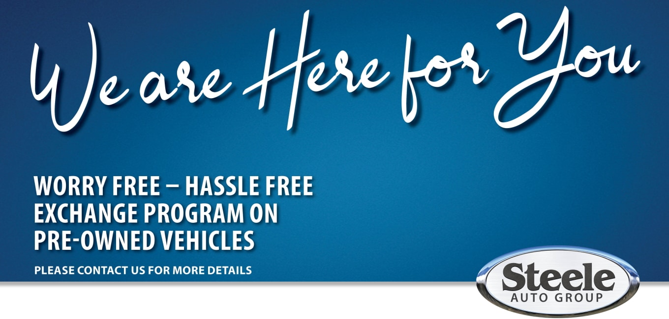 Steele Used Car Exchange Program - Steele Hyundai