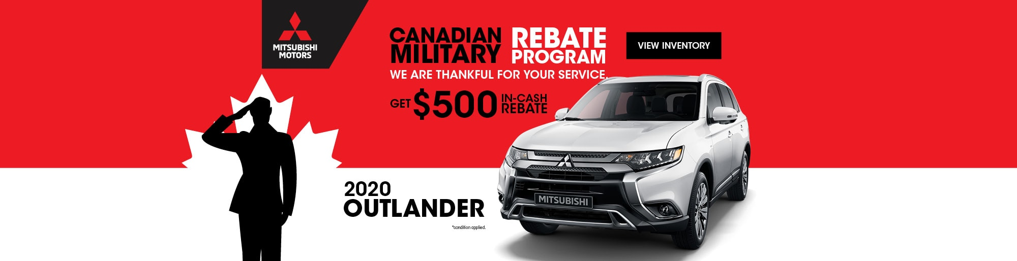 Mitsubishi Military Program | Steele Mitsubishi