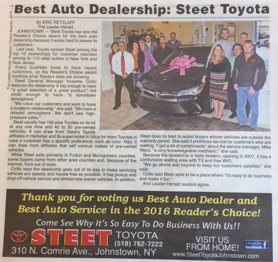 Community Events | Steet Toyota of Johnstown