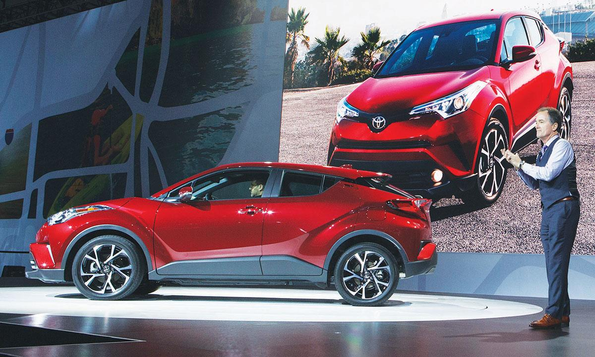 the c hr toyota watch all youtube new crossover