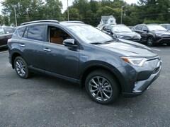 New 2018 Toyota RAV4 Hybrid Limited SUV 181027 in Johnstown, NY