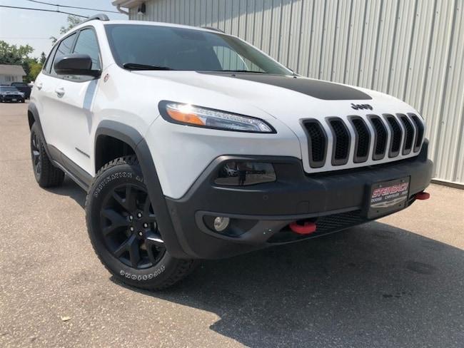 2018 Jeep Cherokee Trailhawk Leather Plus Dual Pane Sunroof, NAV SUV