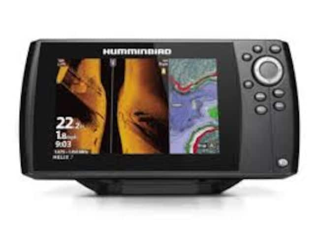 2019 BOAT PARTS HUMMINBIRD HELIX 7 CHIRP MSI GPS G3N