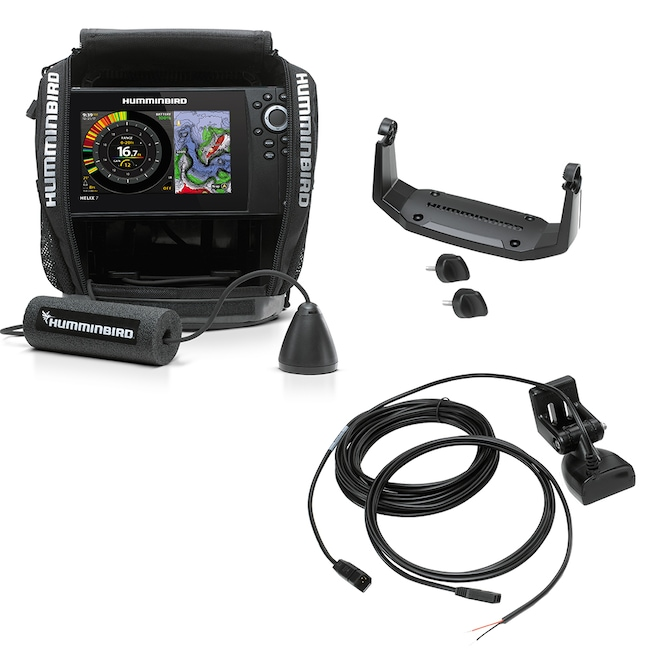 2019 BOAT PARTS HUMMINGBIRD ICE HELIX 7 CHIRP GPS G2N AS