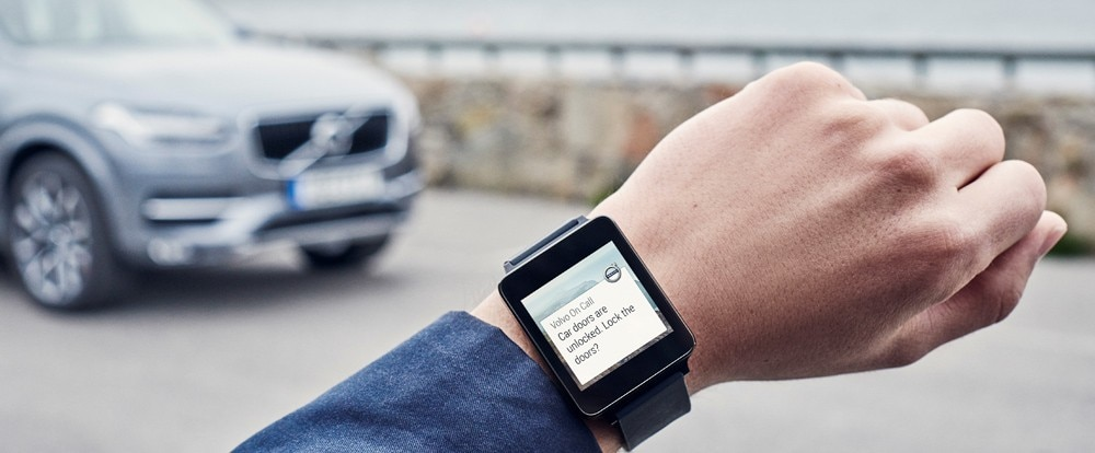Now Your Can Control Your Volvo from Your Apple Watch