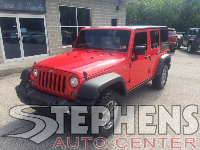 2017 Jeep Wrangler Unlimited Rubicon Rubicon 4x4