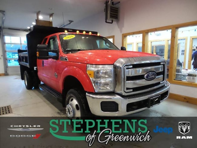 2016 Ford F-350 Super Duty XLT 4x4 4dr Supercab 162 in. WB DRW Chassis Chassis