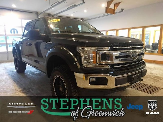 2018 Ford F-150 XLT 4x4 4dr Supercrew 5.5 ft. SB Pickup Truck