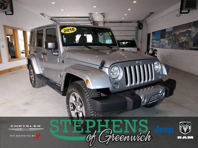 2016 Jeep Wrangler Unlimited Sahara 4x4 4dr SUV SUV