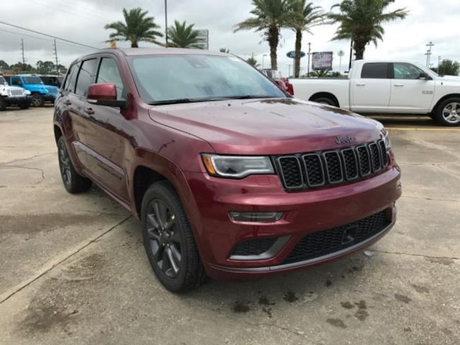 New 2018 Jeep Grand Cherokee HIGH ALTITUDE 4X2 Sport Utility For Sale/Lease Opelousas, LA
