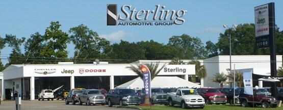 About sterling chrysler jeep dodge dealership in for Sterling motors lafayette la