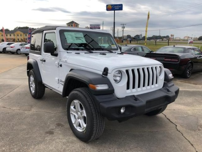 New 2018 Jeep Wrangler SPORT S 4X4 Sport Utility For Sale/Lease Opelousas, LA