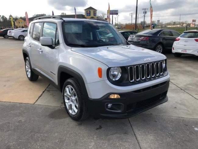 New 2018 Jeep Renegade LATITUDE 4X2 Sport Utility For Sale/Lease Opelousas, LA