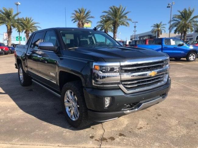 Used 2018 Chevrolet Silverado 1500 High Country Truck Crew Cab For Sale Opelousas, LA