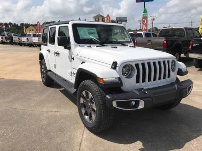 New 2018 Jeep Wrangler UNLIMITED SAHARA 4X4 Sport Utility For Sale/Lease Opelousas, LA