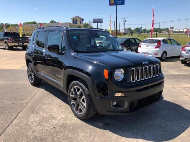 New 2018 Jeep Renegade LATITUDE 4X2 Sport Utility For Sale/Lease Opelousas, LA