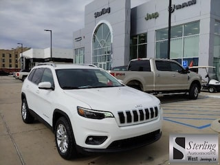 New 2019 Jeep Cherokee LATITUDE FWD Sport Utility For Sale Jennings LA