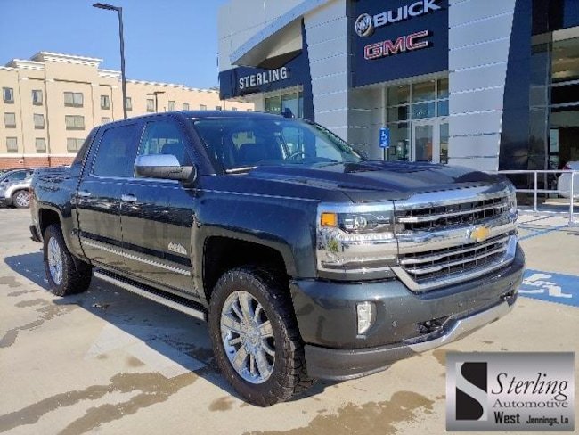 Used 2018 Chevrolet Silverado 1500 4WD Crew Cab 143.5 High Country Crew Cab Pickup For Sale Jennings LA