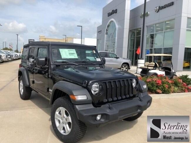 New 2018 Jeep Wrangler UNLIMITED SPORT S 4X4 Sport Utility For Sale/Lease Jennings LA