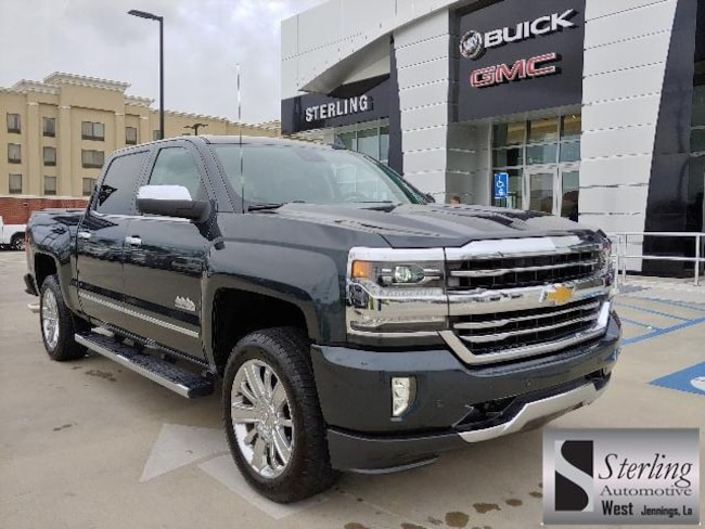 Used 2017 Chevrolet Silverado 1500 4WD Crew Cab 143.5 High Country Crew Cab Pickup For Sale Jennings LA