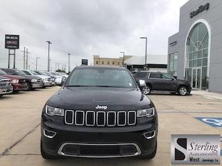 New 2018 Jeep Grand Cherokee LIMITED 4X2 Sport Utility For Sale Jennings LA
