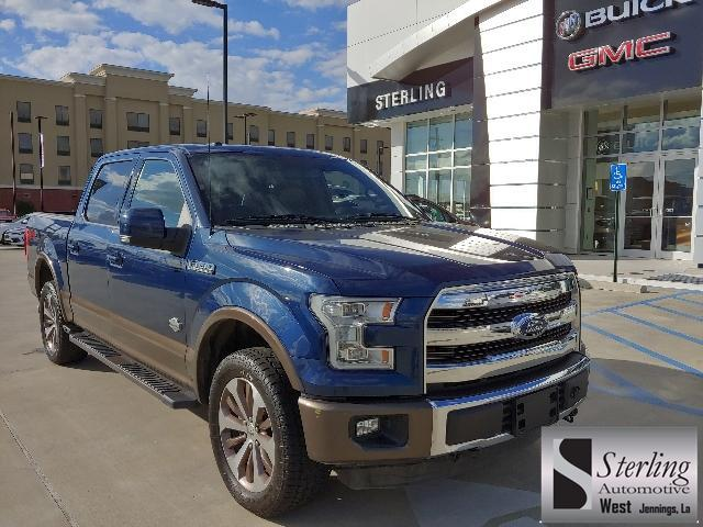 2016 Ford F-150 4WD Supercrew 145 King Ranch Crew Cab Pickup