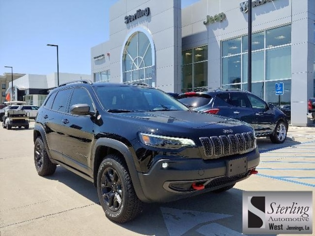 New 2019 Jeep Cherokee TRAILHAWK 4X4 Sport Utility For Sale/Lease Jennings LA