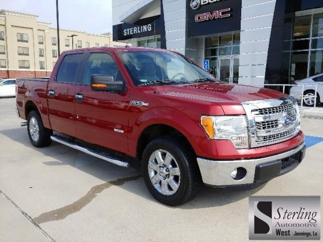 Used 2013 Ford F-150 2WD Supercrew 145 XLT Crew Cab Pickup For Sale Jennings LA