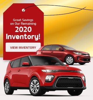 Great Savings on Our Remaining 2020 Inventory