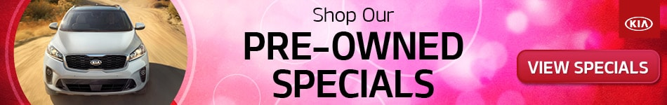 February Shop Our Pre-Owned Specials
