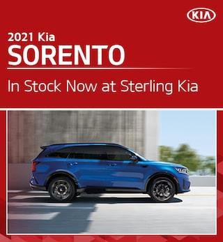2021 Kia Sorento in Stock Now at Sterling Kia