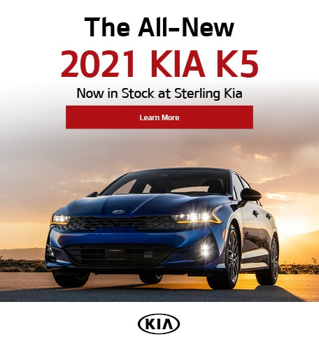 The All-New 2021 Kia K5 Now in Stock at Sterling Kia