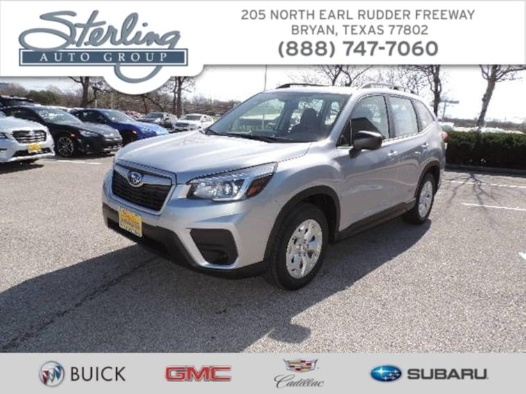 New 2019 Subaru Forester Standard SUV Bryan TX