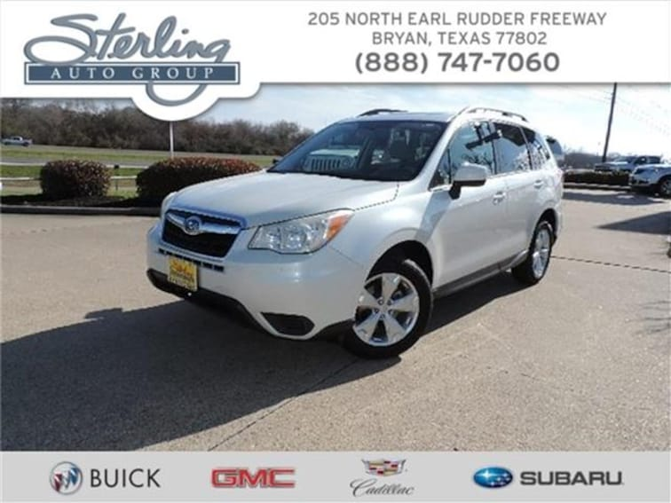 Used 2015 Subaru Forester 2.5i Premium Bryan