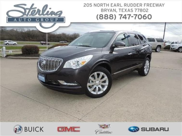 Used 2017 Buick Enclave Premium Front-wheel Drive Bryan